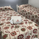 Dos camas individuales - habitación doble